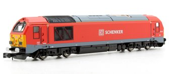 DB Schenker Class 67 015 Red (DCC-Fitted)