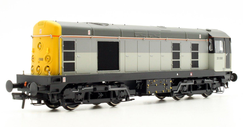 Class 20 088 BR Triple Grey Diesel Locomotive with DCC Sound
