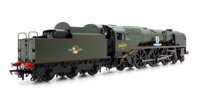 BR 4-6-2 '603 Squadron' '34077' Battle of Britain Class - Rebuilt