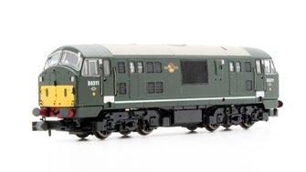 Class 22 - D6311 BR Green (Small Yellow Panel) Diesel Locomotive