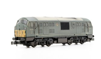 Class 22 BR Green Disc Headcode D6316 Weathered DCC Fitted