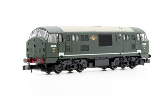 Class 22 BR Green D6326 Disc Headcode  (No Warning panel) Locomotive