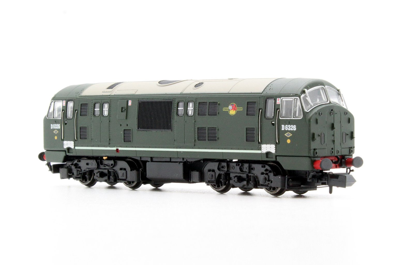 Class 22 BR Green D6326 Disc Headcode  (No Warning panel) Locomotive