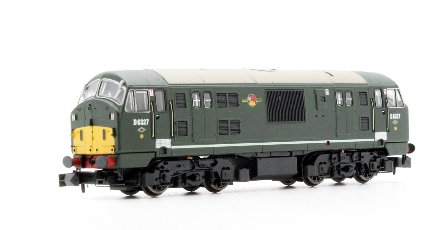 Class 22 BR D6327 Disc Headcode Amended WP