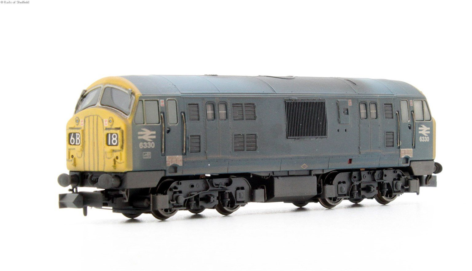 Class 22 6330 BR Blue FYP Weathered