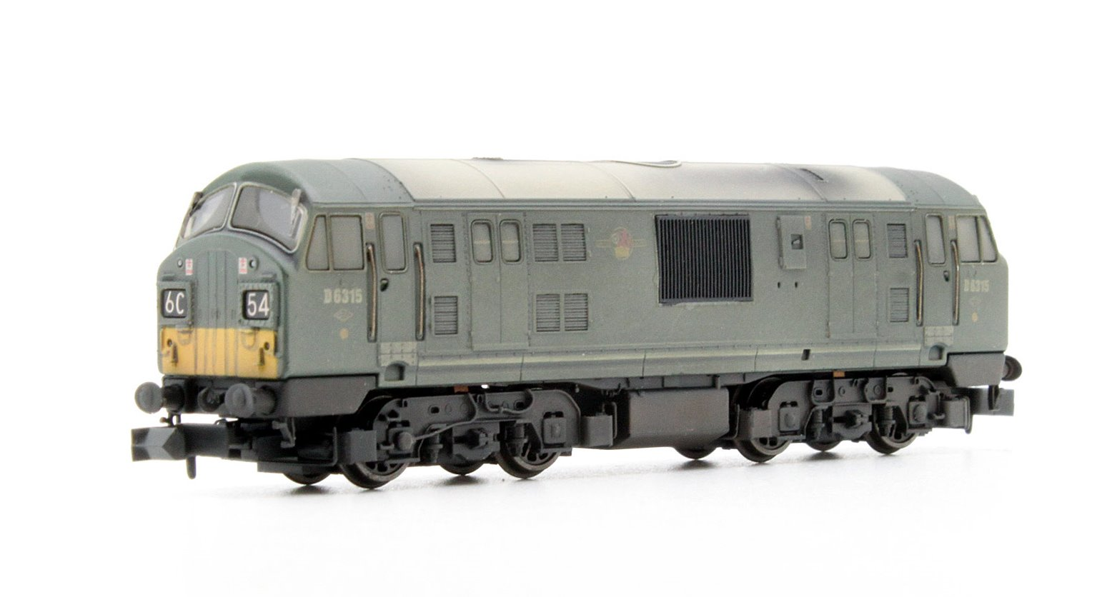 Class 22 BR Green SYP Font A D6315 Weathered
