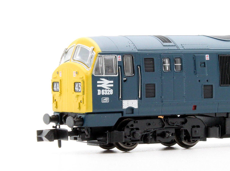 Class 22 BR Blue Full Yellow Ends Font A D6328