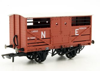 Oxford Rail OR76CAT002 Cattle Wagon - LNER E150624