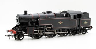 Fairburn 2-6-4 Tank 42062 BR Lined Black Late Crest