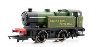 RailRoad 0-4-0 'Kelly & Son Paper Mill' Locomotive
