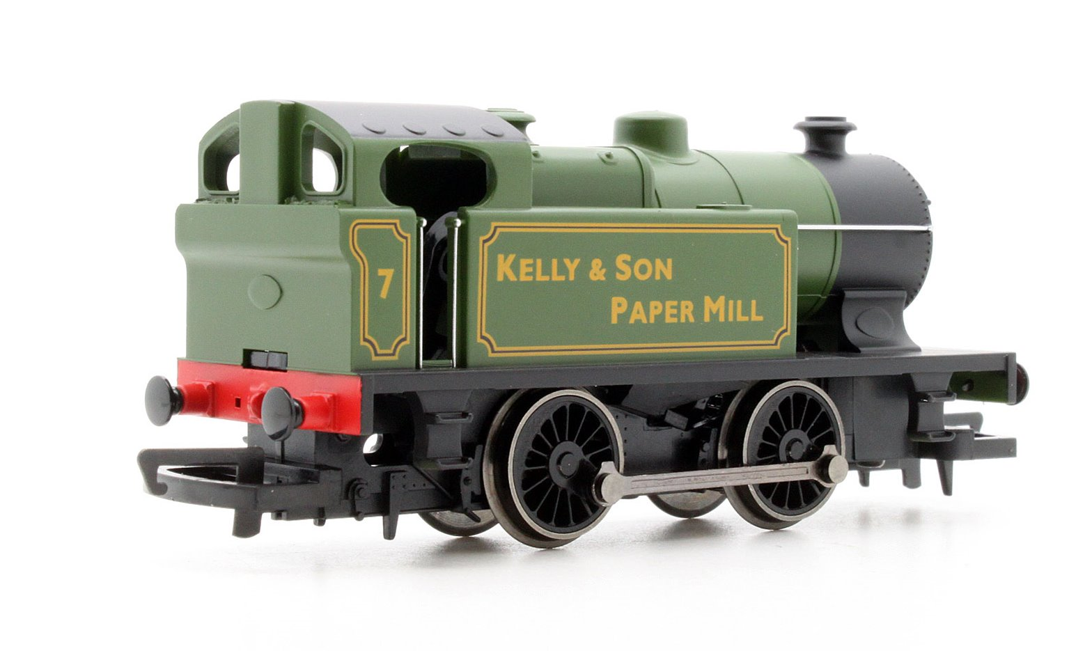 RailRoad 0-4-0 'Kelly & Son Paper Mill' Locomotive