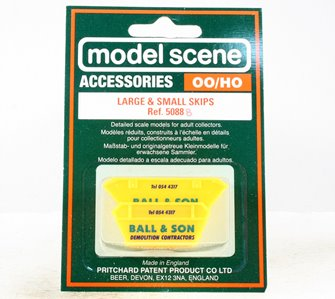 Modelscene 5088B Skips (large & small), 'Ball & Son'