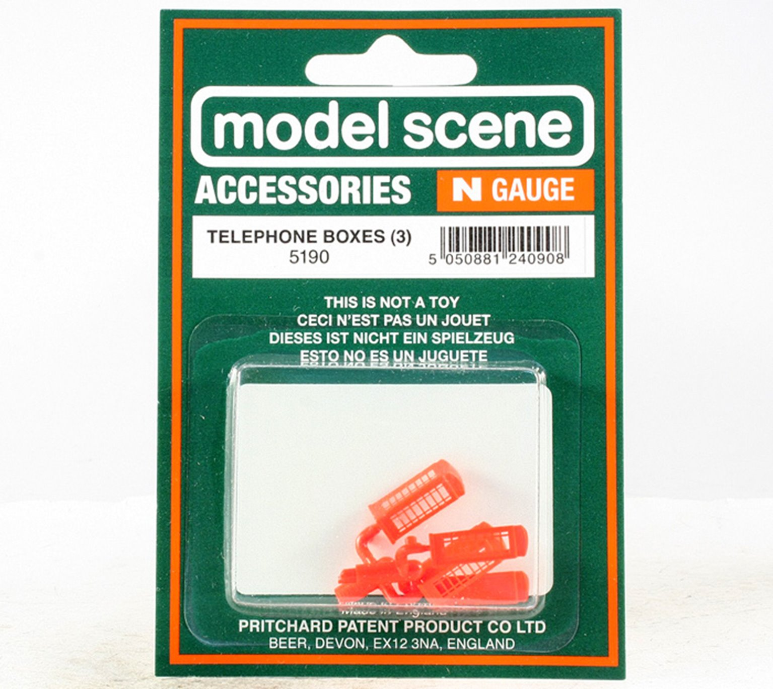 Modelscene 5190 Telephone Boxes