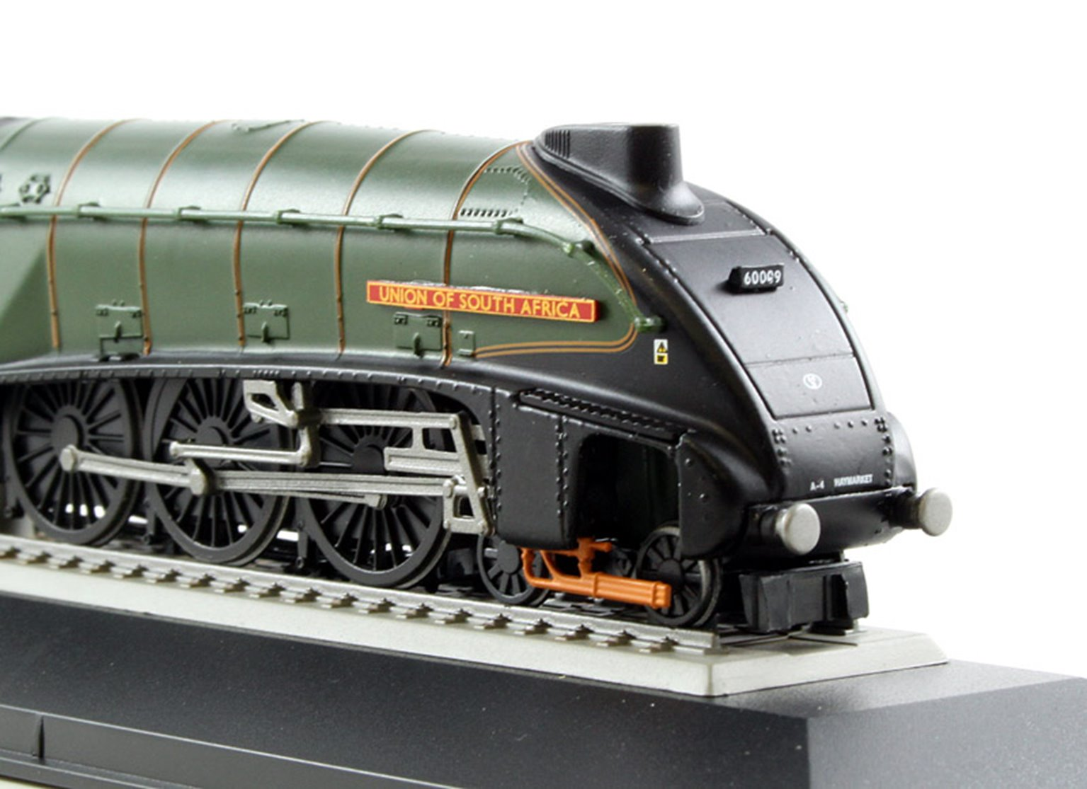 BR 4-6-2 A4 Class 'Union of South Africa' Locomotive 60009 -A4 Gathering 2013 (Static Diecast Model)