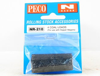 Coal Loads (To Match HAA Coal Hoppers) Wagon Load (Pack of 4)