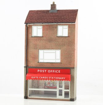Low Relief Post Office with Maisonette