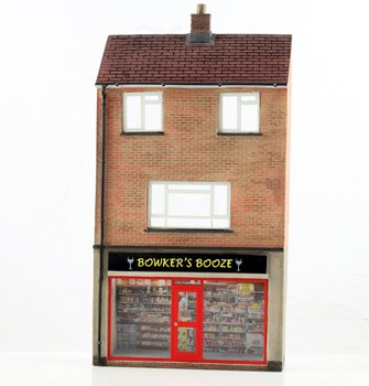 Low Relief Off Licence with Maisonette