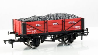 B W Co 4 Plank Wagon