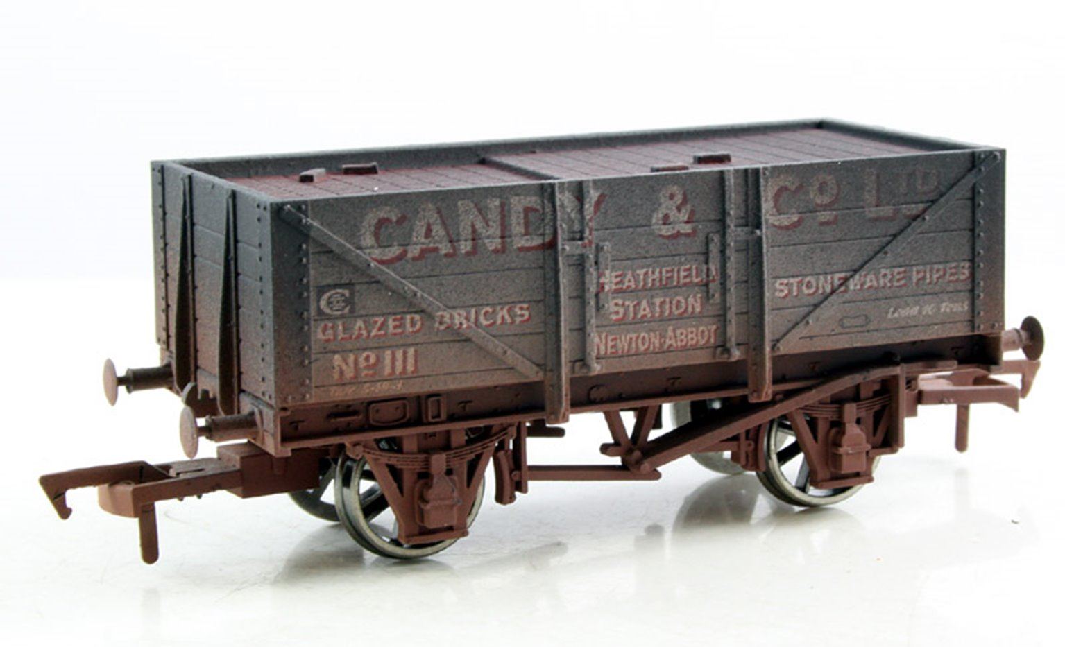 Candy & Co 5 Plank Wagon (Weathered)