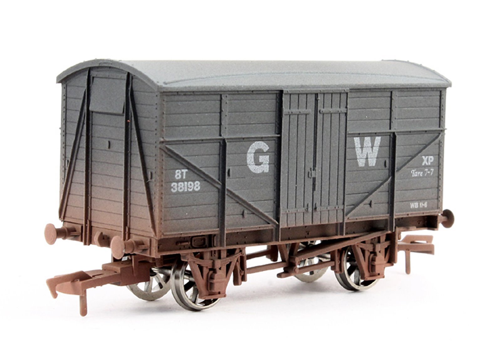 GWR Fruit Mex #38198 Weathered
