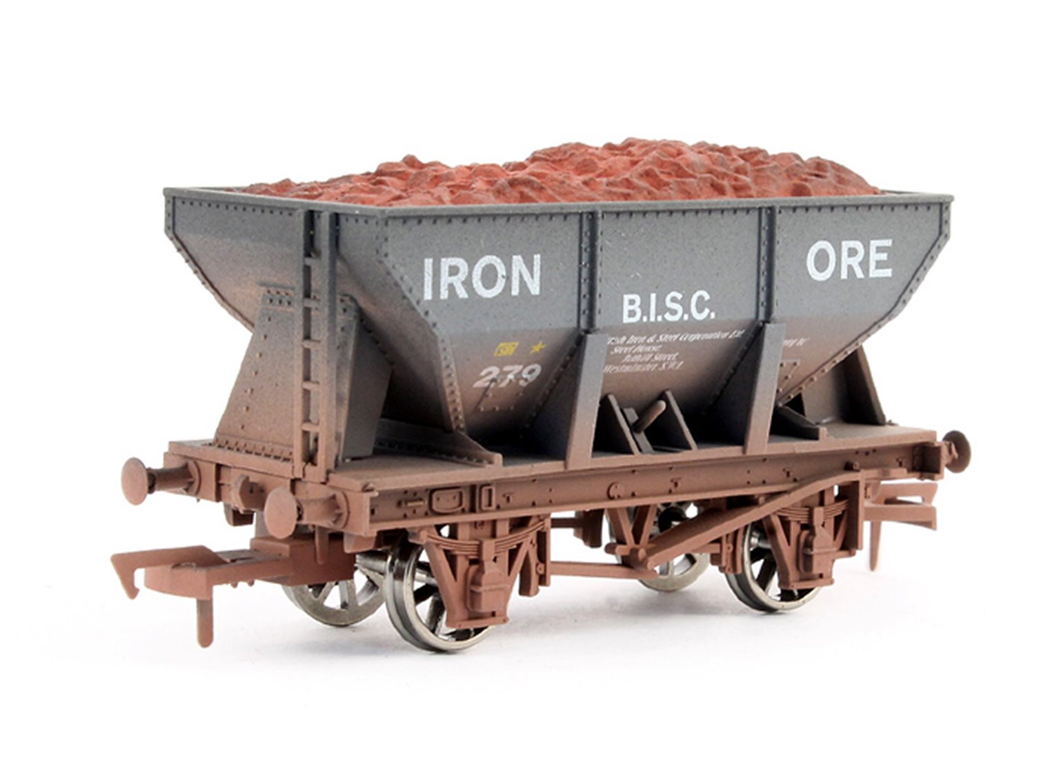 24T Hopper BISC Weathered