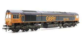 "Class 66/7 66728 ""institution of Railway Operators"" GB Railfreight Weathered Locomotive"
