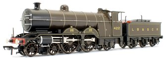 LB&SCR H2 Atlantic 422 LB&SCR Umber Steam Locomotive