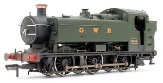 GWR 94XX Pannier Tank 9405 GWR Green (GWR) Locomotive (Weathered Edition)
