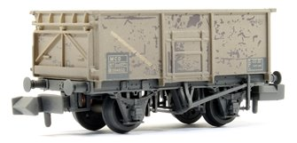 16 Ton MCO Steel Mineral Wagon BR Grey Weathered