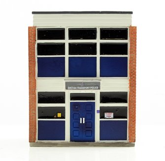 Low Relief British Transport Police Station 74mm x 30mm x 90mm
