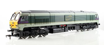 Class 201 'River Clare' Original Enterprise livery Diesel Locomotive #233