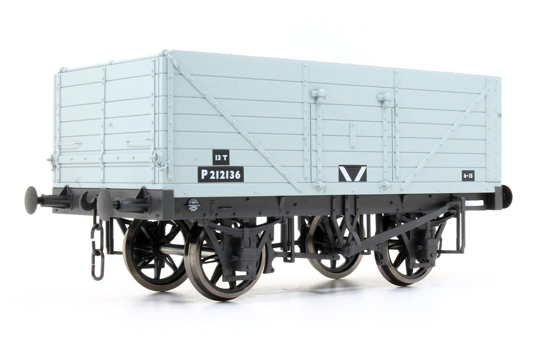 7 Plank Wagon BR Grey P212136
