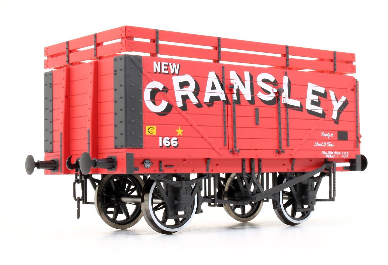 7 Plank Coke Wagon New Cransley No.166 (Two Coke Rails)