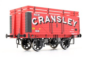 7 Plank Coke Wagon New Cransley No.166 (Two Coke Rails)