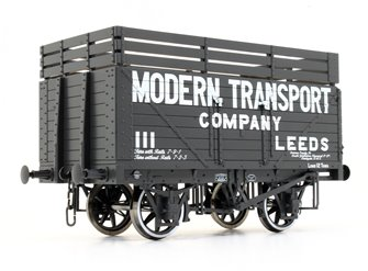 8 Plank Wagon Modern Transport (Three Coke Rails)
