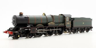 'King Edward V' GWR Green King Class 4-6-0 Steam Locomotive #6016