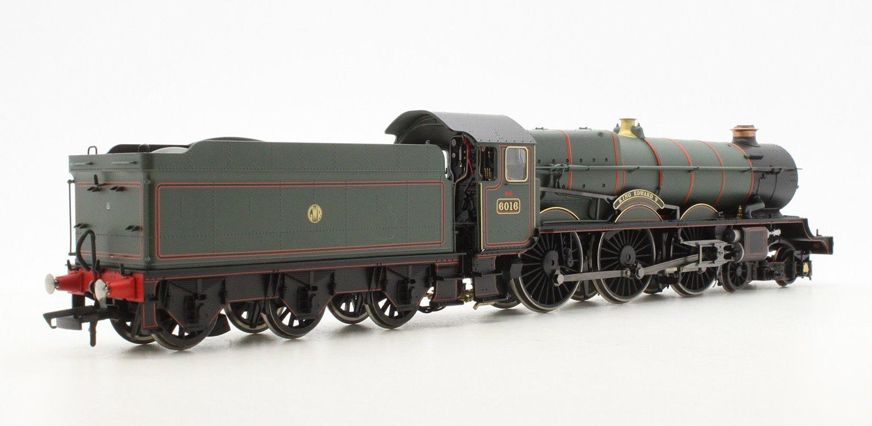 'King Edward V' GWR Green King Class 4-6-0 Steam Locomotive #6016