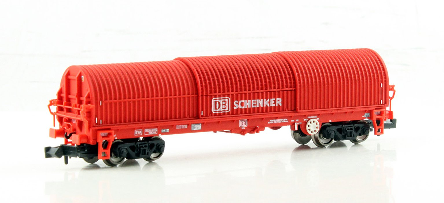 N Scale 102 Tonne glw Thrall BRA Steel Strip Carrier 'DB Schenker'