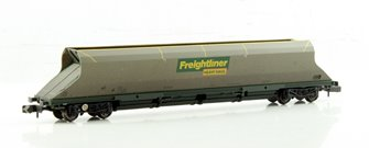 N Scale 100 Tonne HHA Bogie Hopper Wagon Freightliner Weathered
