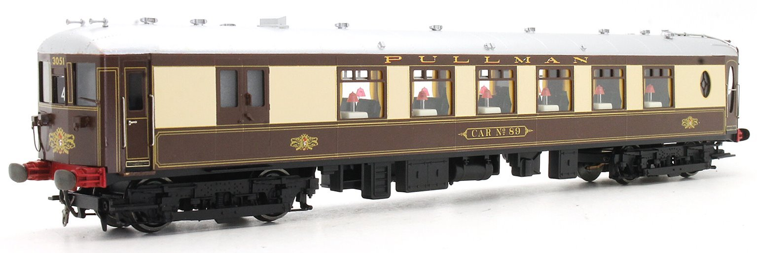 'Brighton Belle' 5 Car Pullman Car Set (DCC Fitted)