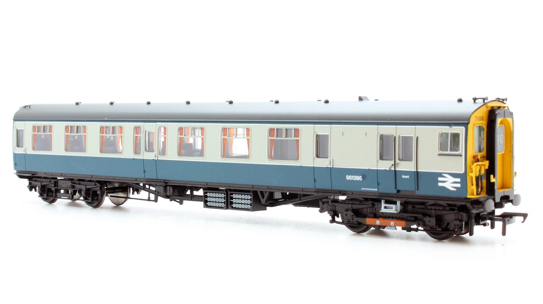 4 CEP 4 Car EMU 7106 BR Blue & Grey