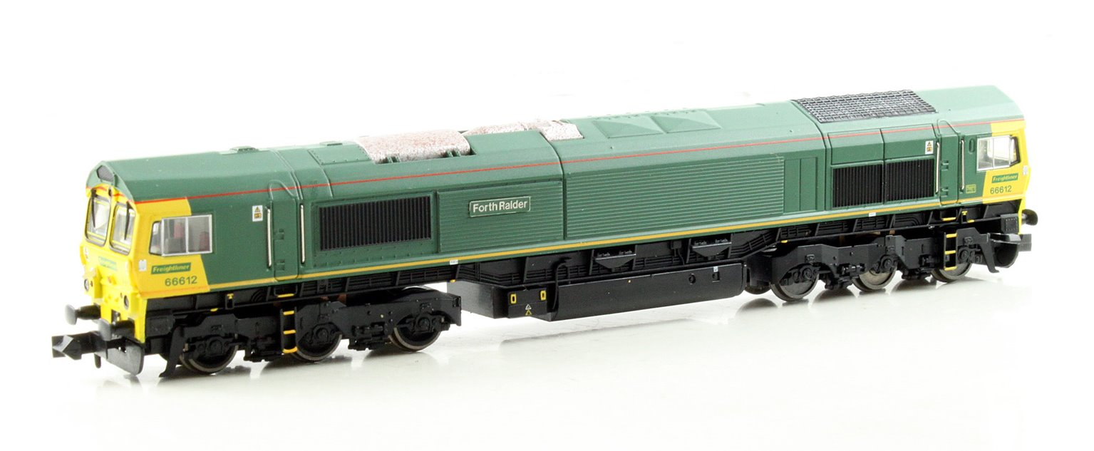Class 66 Unbranded Freightliner Livery 66612 DCC Fitted