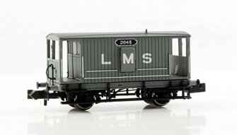 Midland 20 Ton Brake Van LMS Grey