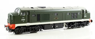Class 23 (Early) D5901 Baby Deltic BR Green with Frost Grilles