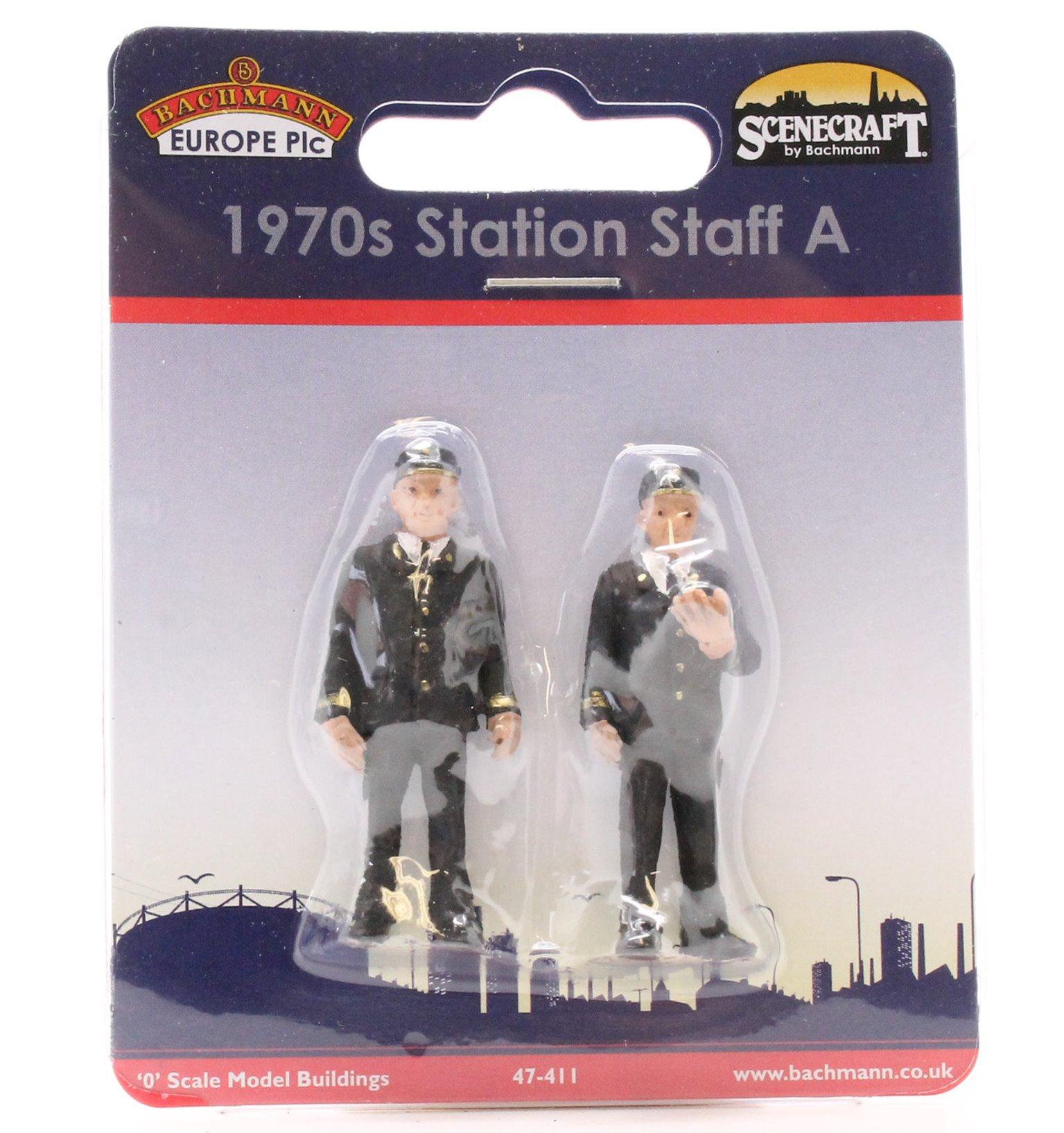 Station Staff 70's Set A