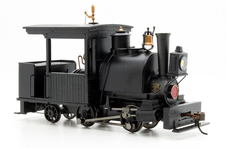 Porter 0-4-2 Black Unlettered (DCC On Board)