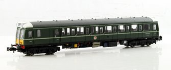 Class 121 #W55022 Green Small Yellow Panels - DCC Fitted