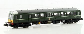 Class 121 #W55028 Green Small Yellow Panel - Dummy car