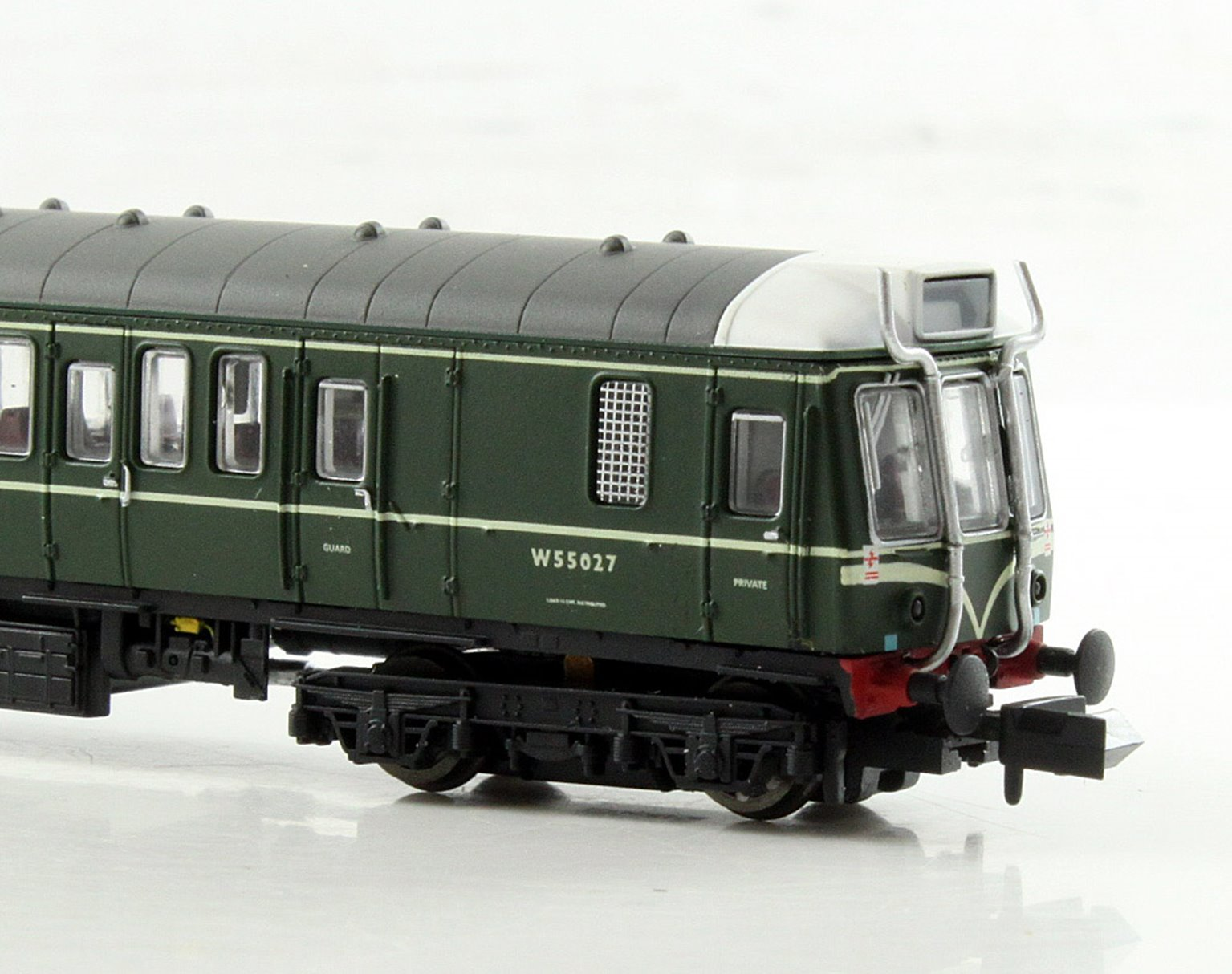 Class 121 #W55027 Green with Whiskers