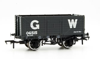 7 Plank End Door Wagon GWR Grey